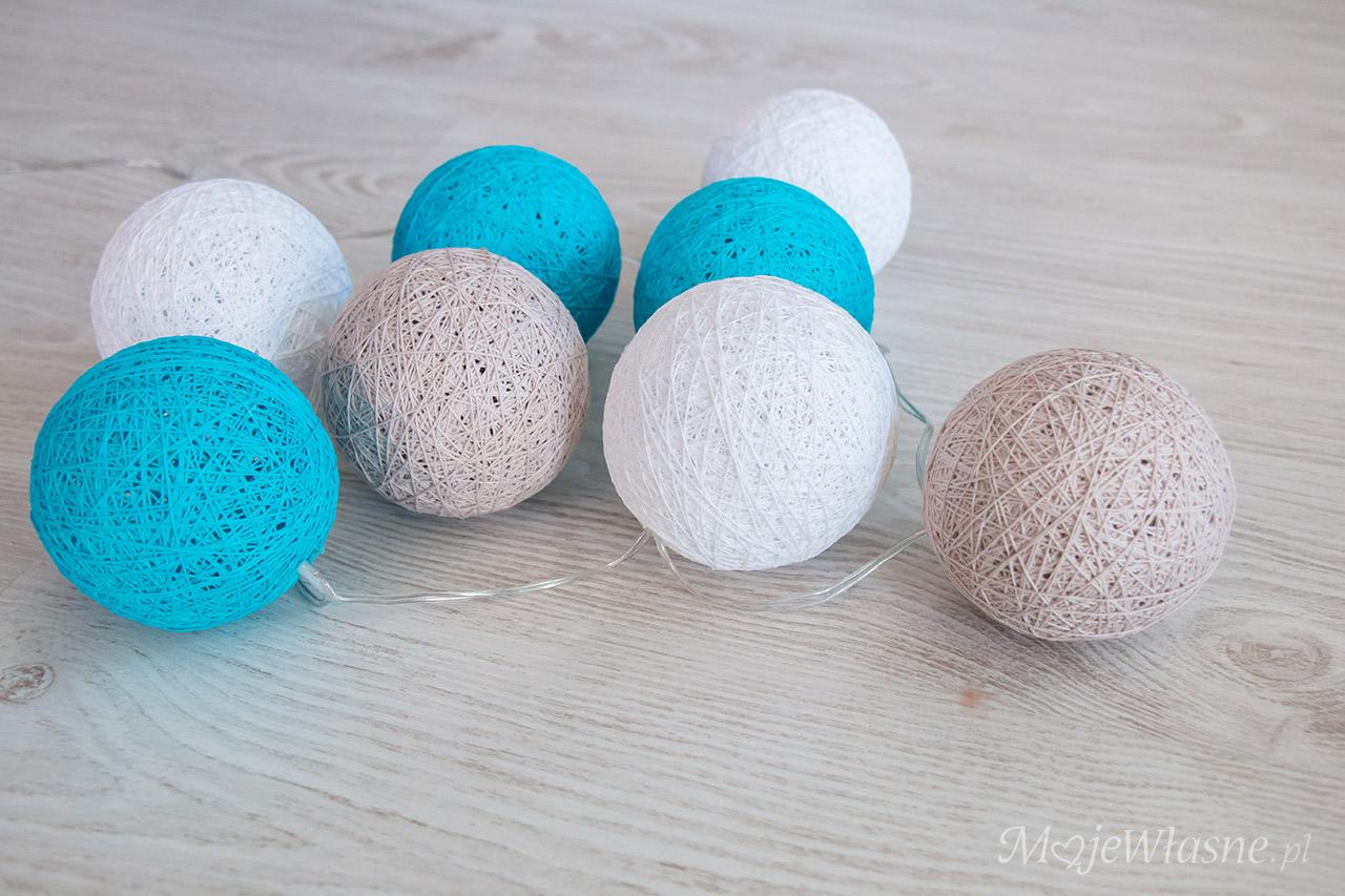 cotton balls light DIY 6