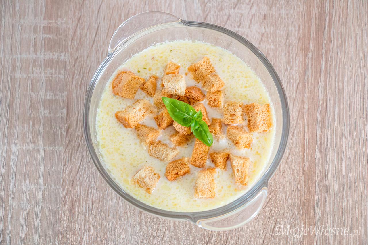 Mocno serowa zupa serowa