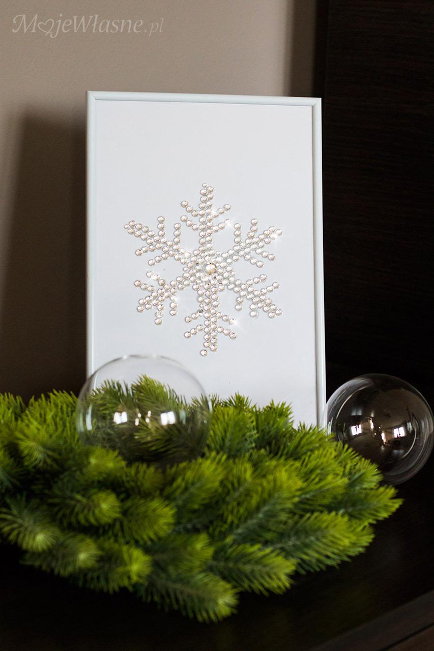 świąteczne ozdoby śnieżka