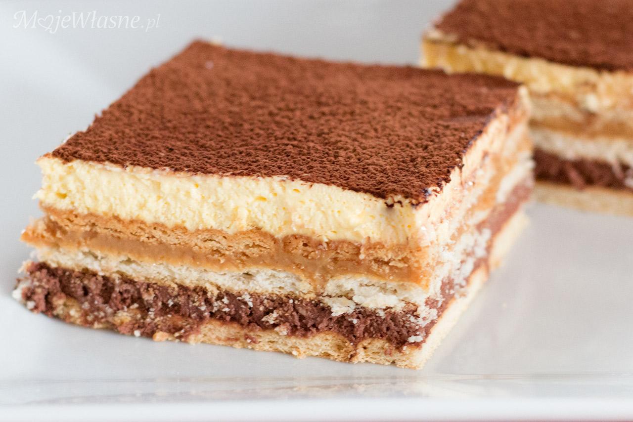 ciasto tortowe bez pieczenia
