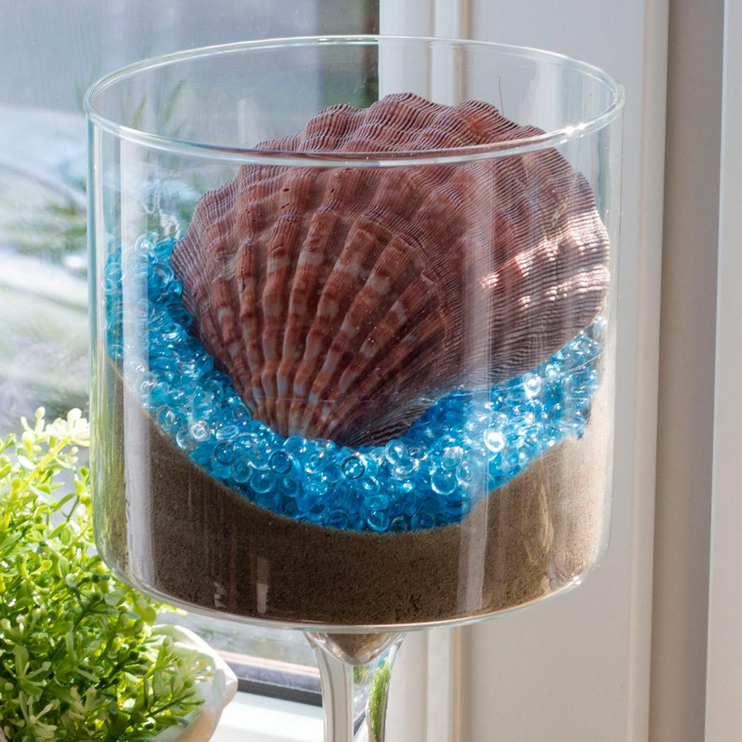Co zrobić z muszlą czyli odrobina morza w domu.