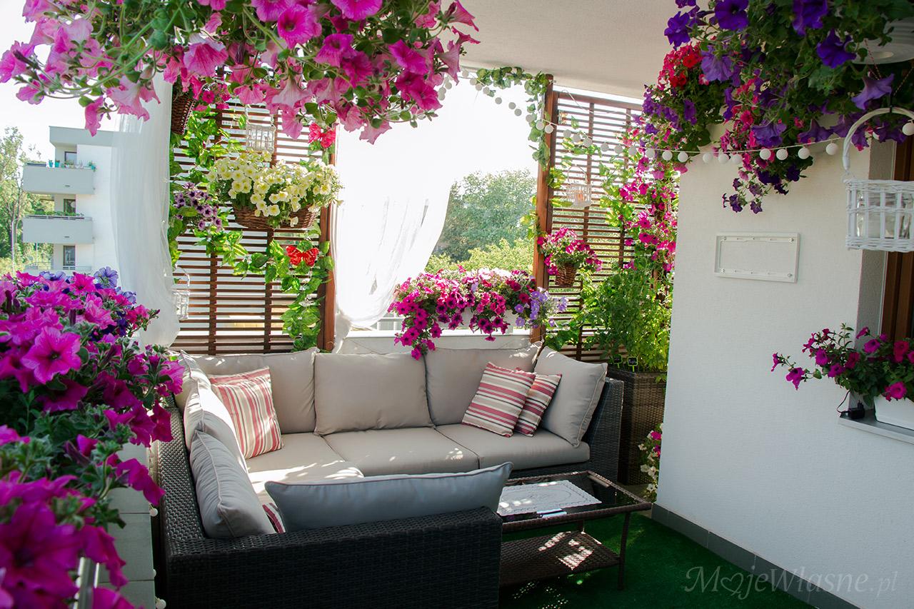 Balkon lato aranżacja 2016