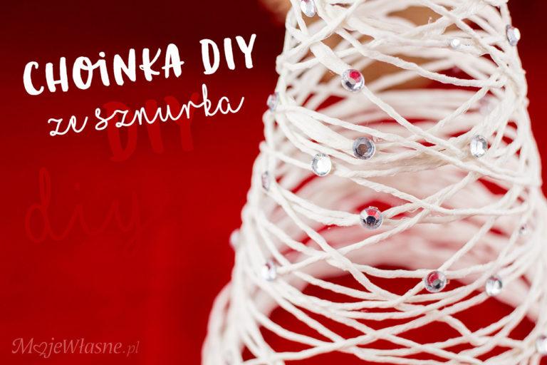 DIY choinka ze sznurka