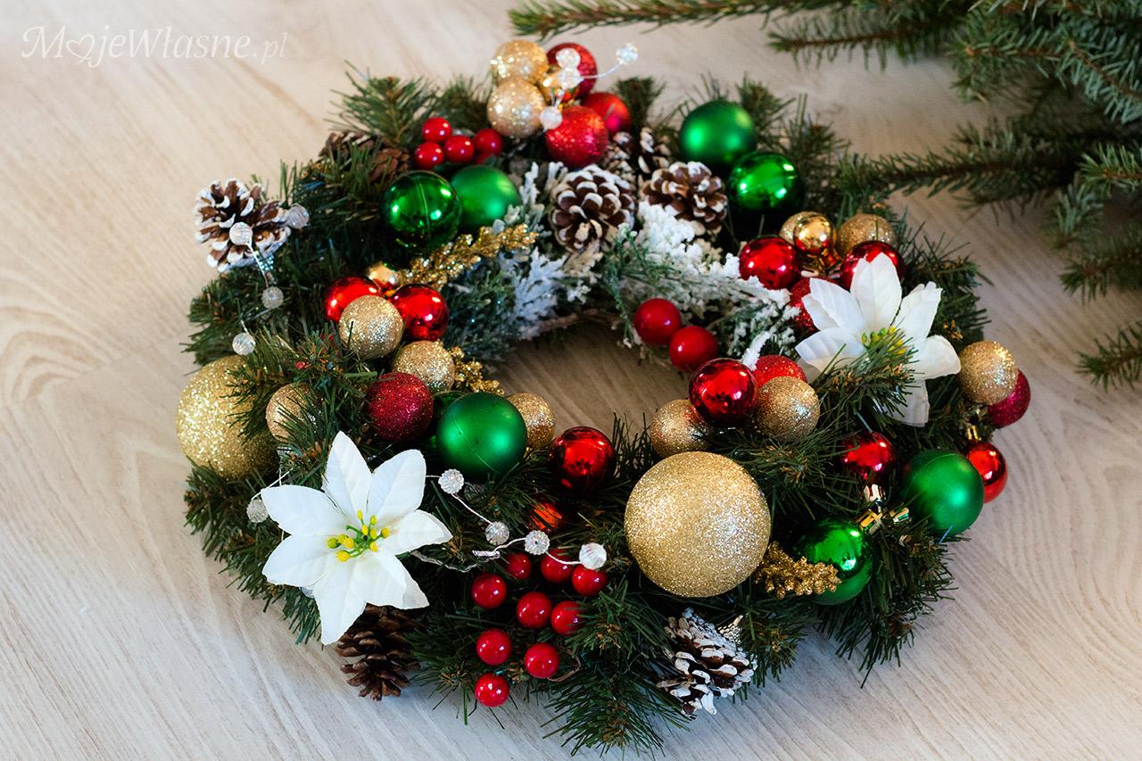 Stroiki i wianki świąteczne