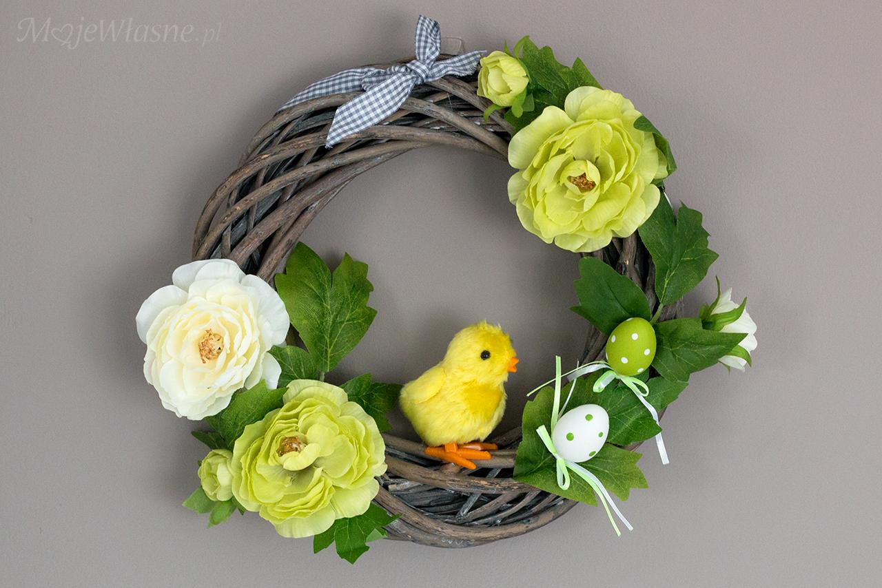 DIY Wianek Wielkanocny