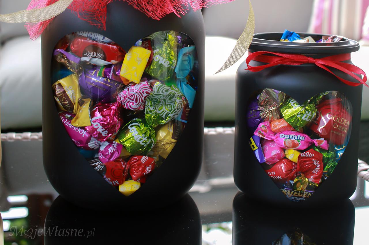 Cukierki w słoiku – słodki upominek DIY
