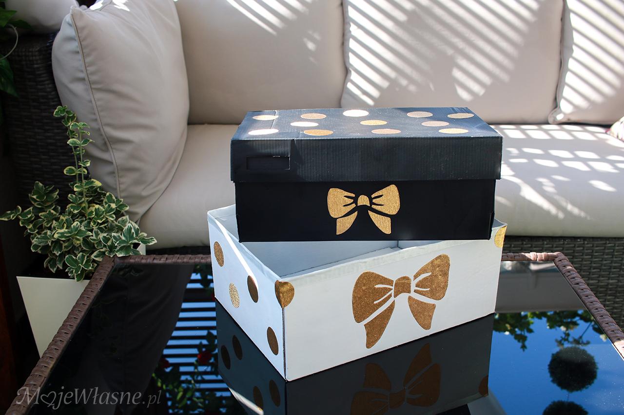 Co zrobić z kartonowego pudełka po butach?