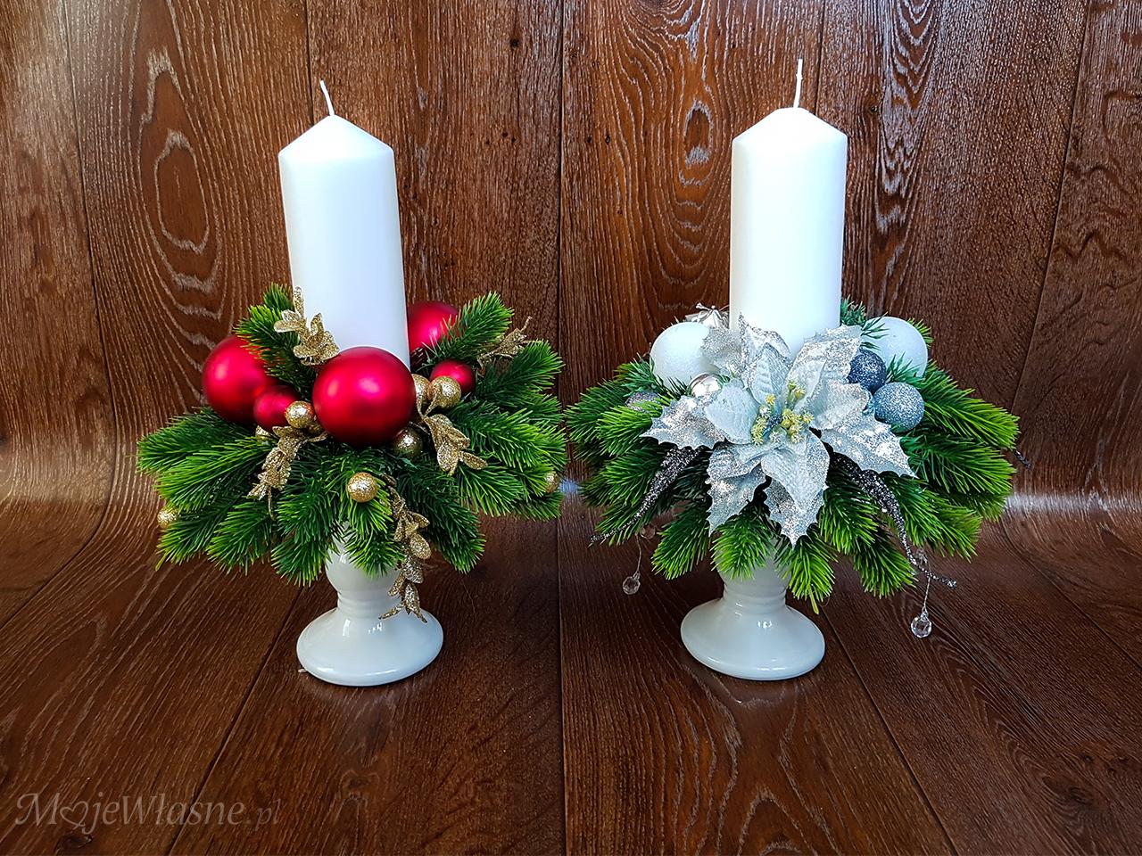 Jak zrobić stroik na stół świąteczny