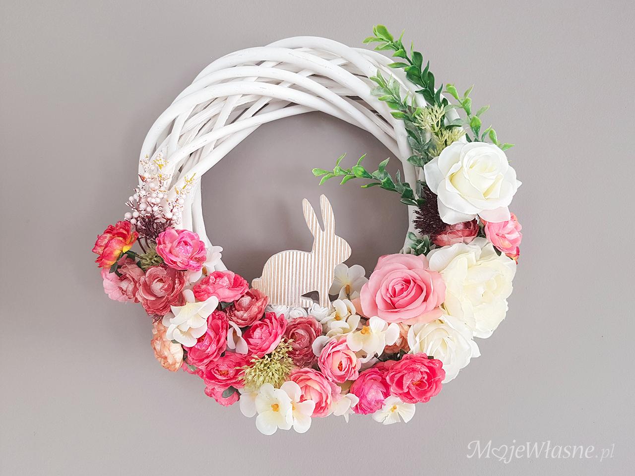 Wiosenne i wielkanocne wianki DIY