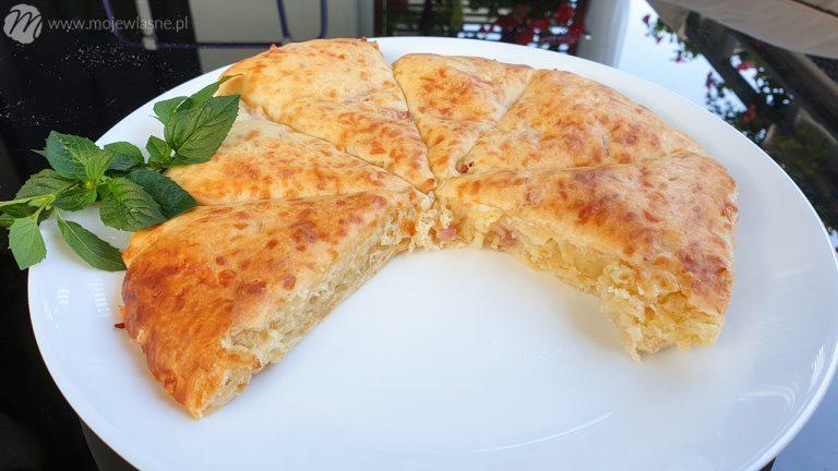 Szybki placek serowy a'la pizza dla laika w 10 minut