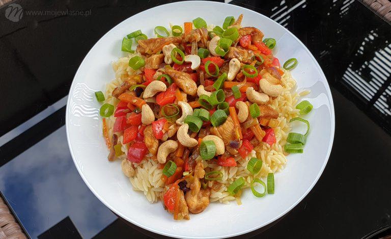 Fit obiad: Kurczak po chińsku