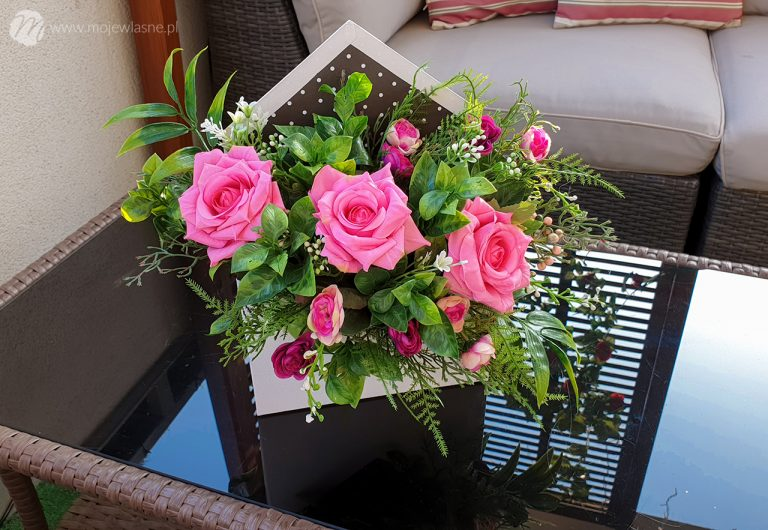 DIY flower box w kopercie