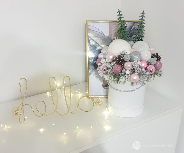 Stroiki i flower boxy na Boże Narodzenie – DIY