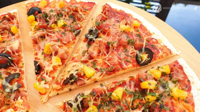 Pizza na podwójnym spodzie z tortilli w 5 min!