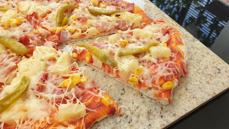 Pizza na kamieniu, czyli jak zrobisz prawdziwą pizzę w swoim domu (najlepszy przepis!)