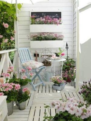 romantyczny balkon kaiwaty