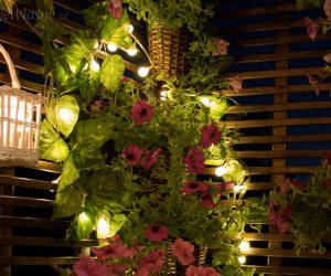 oświetlenie balkon girlanda
